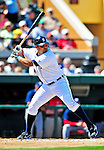 5 March 2009: Detroit Tigers' catcher Gerald Laird in action during a Spring Training game against the Washington Nationals at Joker Marchant Stadium in Lakeland, Florida. The Tigers defeated the visiting Nationals 10-2 in the Grapefruit League matchup. Mandatory Photo Credit: Ed Wolfstein Photo