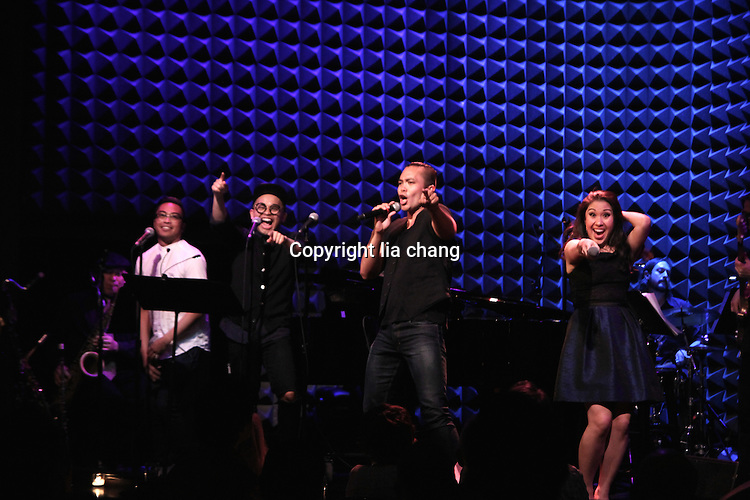 Jose Llana, Ruthie Ann Miles, Jaygee Macapugay and more at Altitude Album Release Party 5/19/16