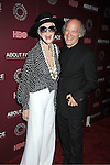 "model Carmen Dell'Orefice and Timothy Greenfield-Sanders attend the New York Premiere of  HBO's ""About Face: Supermodels Then and Now"" on July 17, 2012 at The Paley Center for Media in New York City. This was filmed by Timothy Greenfield-Sanders."