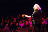 "Jerry Garcia of The Grateful Dead performs during a concert in Oakland.    Deadheads from around the country gathered for an annual pilgrimage to attend a series of concerts over New Years.   The remaining members of the band will reunite for the final time for the ""Fare Thee Well"" concerts  over July 4th weekend in 2015."