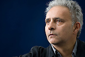 Hanif Kureishi, British author, writer of 'The Buddha of Suburbia'. Edinburgh International Book Festival, Edinburgh, Scotland. Edinburgh is the inaugural UNESCO City of Literature.