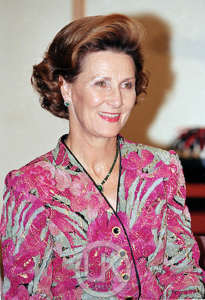King Harald, and Queen Sonja of Norway, State Visit to China..The King and Queen attend a Dinner given by The Mayor, in Shanghai, China, Queen Sonja attends.
