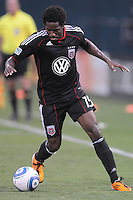D.C. United midfielder Clyde Simms (19). D.C. United defeated The Vancouver Whitecaps FC 4-0 at RFK Stadium, Saturday August 13 , 2011.