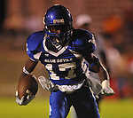 Water Valley's K.J. Lee (17) scores vs. Coffeeville in Water Valley, Miss. on Friday, August 26, 2011.