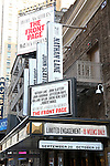 'The Front Page' - Theatre Marquee