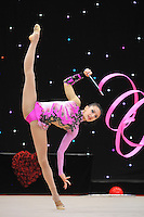 "February 8, 2014 - Tartu, Estonia - ANNA LUIZA FILIORIANU(1999 junior) from Romania performs at ""Miss Valentine 2014"" international tournament."