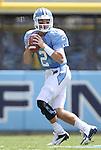 01 September 2012: UNC's Bryn Renner. The University of North Carolina Tar Heels played the Elon University Phoenix at Kenan Memorial Stadium in Chapel Hill, North Carolina in a 2012 NCAA Division I Football game. UNC won the game 62-0.