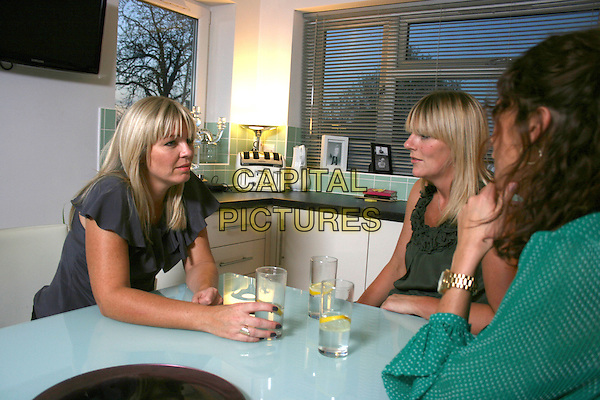 KATE THORNTON TALKING TO THE TWO CLAIRES.in Kate Thornton My Secret Teens .*Filmstill - Editorial Use Only*.CAP/NFS.Supplied by Capital Pictures.