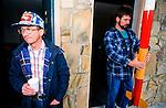 Lovett Reddick a roceteer at  the Tripoli amateur rocket  festival ..Manchester, Tennessee. USA