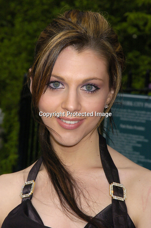 Adrianne Leon ..at the Pre Daytime Emmy Awards Party at Gracie Mansion on May 19, 2005. ..Photo by Robin Platzer, Twin Images