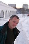 Russian author Mark Kharitonov in Moscow.
