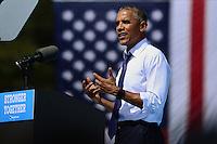 Obama Clinton campaign in Philadelphia