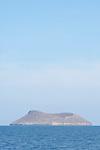 Daphne Major Island, Galapagos, Ecuador; Daphne Major Island viewed from the Sea Finch boat while crossing from Santa Cruz Island to Bartolome Island , Copyright © Matthew Meier, matthewmeierphoto.com All Rights Reserved