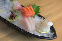 5 Selection Sushi, Roka Restaurant, Charlotte Street, North Soho, London, Great Britain, UK