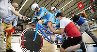 Picture by Simon Wilkinson/SWpix.com - 02/03/2017 - Cycling 2017 UCI Para-Cycling Track World Championships, Los Angeles USA - BELGIUM<br />