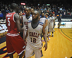 "Seniors Ole Miss guard Chris Warren (12)  and Ole Miss guard Zach Graham (32) on Senior Day at C.M. ""Tad"" Smith in Oxford, Miss. on Saturday, March 5, 2010. Ole Miss won 84-74."