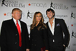 Trumps & Evan Lysacek at the Figure Skating in Harlem  - the 2011 Skating with the Stars on April 4, 2011 at Wollman Rink, Central Park, New York City, New York. (Photo by Sue Coflin/Max Photos)