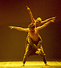 English National Ballet <br /> Triple Bill<br /> at Sadler's Wells, London, Great Britain <br /> rehearsal <br /> 7th September 2015 <br /> <br /> Dust<br /> by Akram Khan <br /> <br /> Tamara Rojo <br /> James Streeter <br /> <br /> <br /> Photograph by Elliott Franks <br /> Image licensed to Elliott Franks Photography Services