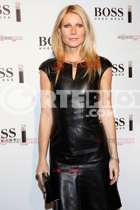Gwyneth Paltrow attends BOSS photocall at Palacio de Neptuno on October 29, 2012 in Madrid, Spain. .(ALTERPHOTOS/Harry S. Stamper) /NortePhoto .<br />