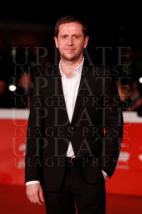 L'attore Pavel Basov sul red carpet per la presentazione del film &quot;Angeli della rivoluzione&quot; al Festival Internazionale del Film di Roma, 22 ottobre 2014.<br /> Actor Pavel Basov poses on the red carpet for the screening of the movie &quot;Angely Revolucii&quot; (&quot;Angels of Revolution&quot;) during the international Rome Film Festival at Rome's Auditorium, 22 October 2014.<br /> UPDATE IMAGES PRESS/Riccardo De Luca