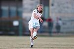 29 November 2013: Virginia Tech's Katie Yensen. The Virginia Tech University Hokies played the Duke University Blue Devils at Thompson Field in Blacksburg, Virginia in a 2013 NCAA Division I Women's Soccer Tournament Quarterfinal match. Virginia Tech won the game 3-0.