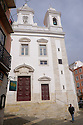 Lisbon, Portugal. 21.03.2015. Church of Sao Miguel in the Alfama district of Lisbon. © Jane Hobson.