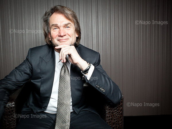 WARSAW, POLAND, FEBRUARY 2, 2012:.Jan Kulczyk, Polish businessman and the richest man in Poland according to Forbes magazine, posing at Kulczyk Investments office in Warsaw..(Photo by Piotr Malecki / Forbes / Napo Images)..Jan Kulczyk , biznesmen..Warszawa, Biuro Kulczyk Investements, 02/02/2012.Piotr Malecki / Forbes / Napo Images.