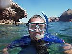 Snorkelling at Los Islotes