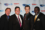 Ken Lundie, Dale Badway, Sean McDermott, Phillip Boykin - Broadway - 2017 New Year's Eve Times Square Ball Drop at the Copacabana, New York City, New York with Dale Badway and the Stars of Broadway. (Photo by Sue Coflin/Max Photos)  suemax13@optonline.net
