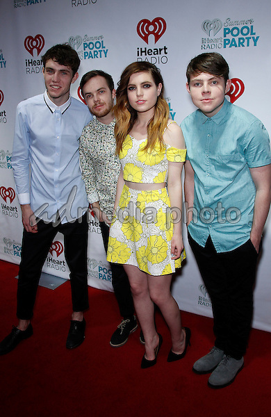 30 May 2015 - Las Vegas, Nevada -  Echosmith.  iHeartRadio Summer Pool Party at Caesars Palace.  Photo Credit: MJT/AdMedia