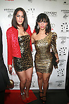 Actress Patricia Mota and Raquel Ortiz  - Arrivals: New Premium Lounge Signed by INDASHIO Men's Collection Fashion Show at AUDI FORUM, NY  9/13/11