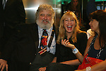 10 AUG 2010: CONCACAF General Secretary Chuck Blazer with his wife. The 2010 National Soccer Hall of Fame Induction Ceremony was held at New Meadowlands Stadium in East Rutherford, New Jersey.