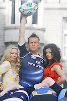 NO REPRO FEE 14/9/'10. Lisa Lambe , Rory Nolan ( Ross O'Carroll Kelly ) and Aoibhinn McGinnity at the launch of Ross O'Carroll Kelly new play Between Foxrock and A Hard Place. It runs at the Olympia Theatre from  15th October until 14th November 2010 Tuesday - Saturday 8pm with matinees at 3pm Saturday and 4pm Sunday.Tickets from EUR25 - EUR49.50, including booking fee.Please contact MCD Rory Murphy 087 9000791 email - rory@mcd.ie or Nik Quaife, Zoetrope PR Mobile: 087 799 7989 for more information..Pic James Horan/ Collins Photos ...