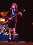 AC/DC 1983 Angus Young ..&copy; Chris Walter..