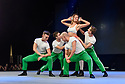 SLP College perform on the main stage at the dance trade show, Move It, at London Dockland's ExCel centre.