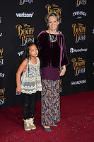 Jean Smart &amp; Guest at the premiere for Disney's &quot;Beauty and the Beast&quot; at El Capitan Theatre, Hollywood. Los Angeles, USA 02 March  2017<br /> Picture: Paul Smith/Featureflash/SilverHub 0208 004 5359 sales@silverhubmedia.com