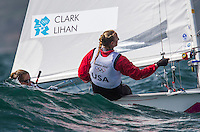 Clark Amanda, Lihan Sarah, (USA, 470 Women)..2012 Olympic Games .London / Weymouth
