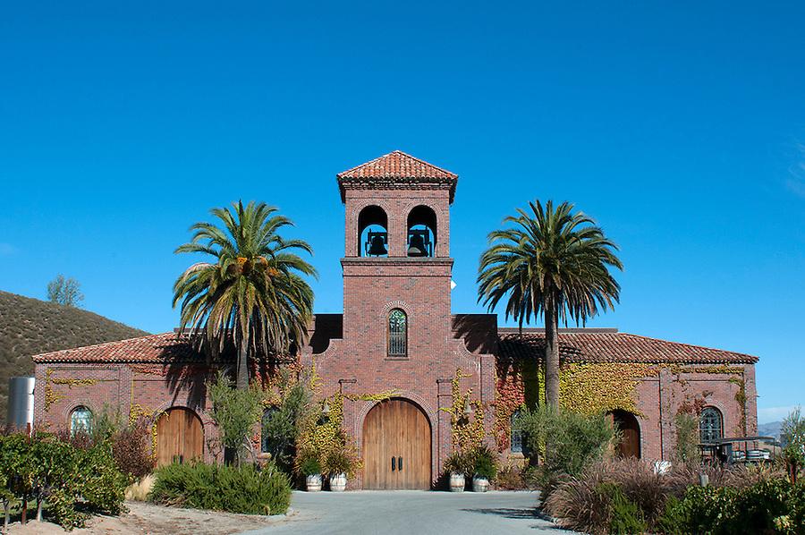Winery in central California, near Carmel