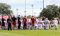Stanford Football vs Spring Practice, March 4, 2017