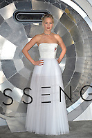 Actress Jennifer Lawrence at the world premiere of &quot;Passengers&quot; at the Regency Village Theatre, Westwood. <br /> December 14, 2016<br /> Picture: Paul Smith/Featureflash/SilverHub 0208 004 5359/ 07711 972644 Editors@silverhubmedia.com