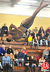 WATERBURY, CT-02 JANUARY 2010-010102JS01- Sacred Heart's Steve Ettenne finished first in the diving with a score of 296.10 during their meet Saturday against Shepaug at Kennedy High School in Waterbury. <br /> Jim Shannon Republican-American