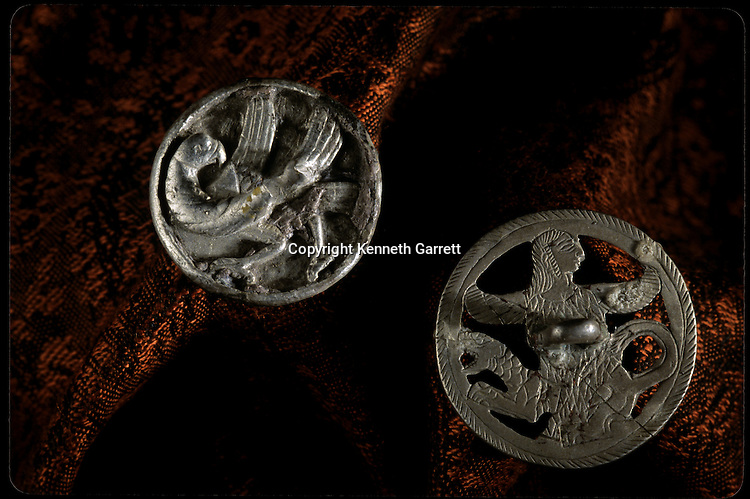 Silver artifacts; National Museum of Turkmenistan, Ashgabat, artifact, Oxus Civilization; Turkmenistan; Gonor Depe site; Victor Sarianidi; Archaeology; BMAC complex