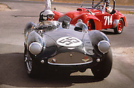 August 26th 1984, Laguna Seca Raceway, CA. 1955 Aston Martin DB3S.