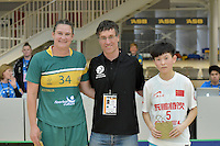 20170201 World Floorball Championships Qualification for Asia-Oceania Region - Australia v China