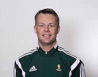 FUSSBALL Fototermin FIFA WM Schiedsrichter  09.04.2014 Bjorn KUIPERS (Holland)