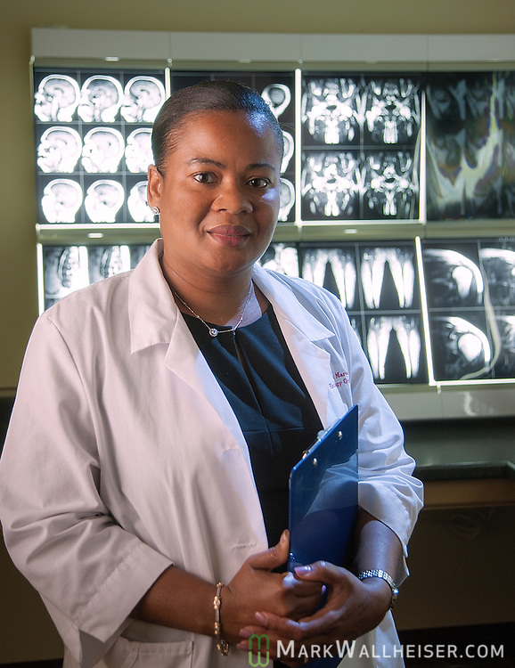 Tallahassee oncologist Dr Marie Amanze at Tallahassee Health Imaging on Capitol Circle east in Tallahassee, Florida.