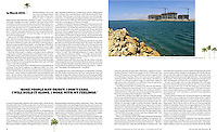 THE NEW YORK TIMES MAGAZINE<br /> <br /> Khazar Islands has started to sprout up in Baku.  The project is expected to house 800,000 residents.<br /> <br /> &quot;If They Build It, Will the Kardashians Come?&quot; p. 34-35<br /> February 10, 2013.