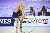 September 26, 2014 - Izmir, Turkey -  MARINA DURUNDA of Azerbaijan performs at 2014 World Championships.