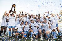 SAN DIEGO, CA - December 2, 2012: North Carolina Tar Heels vs Penn State Nittany Lions for the 2012 NCAA Women's College Cup at Torero Stadium University of San Diego in San Diego, California. Final score North Carolina 4, Penn State 1.