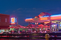 Williams. Arizona, Route 66, night, Restaurant, neon, Cruiser's Cafe 66